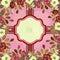 Stock Image : Floral frame