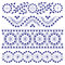 Stock Image : Floral Ornament Borders