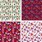 Stock Image : Floral patterns