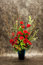 Stock Image : Florists, vase of flower.