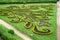 Stock Image : Flower garden of Castle in Kromeriz