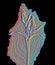 Stock Image : Flower in infrared light