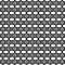 Stock Image : Flower Line Seamless Pattern - Black and White Colors