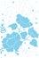 Stock Image : Flower print