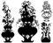 Stock Image : Flowers in vase