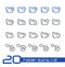 Stock Image : Folder Icons - 1 of 2 // Line Series