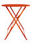 Stock Image : Folding Table Red