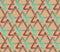 Stock Image :  Fond sans couture avec des triangles dans la palette de hippie