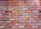 Stock Image :  Fondo rojo de la pared de ladrillo