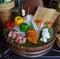 Stock Image : Food arrangement for presentation at a hotel buffet restaurant