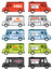 Stock Image : Food truck graphics
