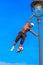 Stock Image : Football Freestyle Iya Traore juggling a Ball
