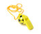 Stock Image : Football shape whistle isolated