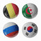 Stock Image : Football WorldCup 2014. Group H Football/soccer balls.
