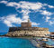 Stock Image : Fort Saint Nicolas Rhodes, Greece