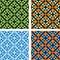 Stock Image : Four mosaics