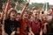 Stock Image : Festival Crowd