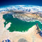 Stock Image : Fragments of the planet Earth. Persian Gulf