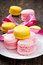 Stock Image : French colorful macarons