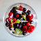 Stock Image : Fresh berries salad