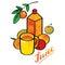 Stock Image : Fresh juice