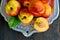 Stock Image : Fresh peaches