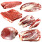 Stock Image : Fresh raw meat collection