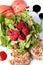 Stock Image : Fresh salad