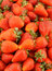 Stock Image : Fresh strawberries background