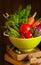 Stock Image : Fresh vegetables.
