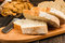 Stock Image : Fresh white bread