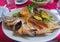 Stock Image : Fried fish