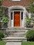 Stock Image : Front door