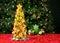 Stock Image : Fruit Christmas tree
