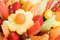 Stock Image : Fruit Salad Background
