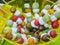 Stock Image : Fruit skewers