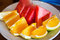 Stock Image : Fruits on dish