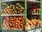 Stock Image : Fruits seller