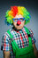 Stock Image : Funny clown