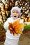 Stock Image : Funny fall girl