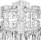 Stock Image : Futuristic Megalopolis City Structure