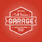 Stock Image : Garage Label