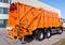 Stock Image : Garbage truck