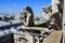 Stock Image : Gargoyles of Notre Dame de Paris
