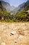 Stock Image : Gates to wild valley from Megalo Seitani beach, Samos