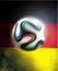 Stock Image : Germany Flag Brasil