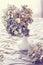 Stock Image :  Getrocknete Hortensieblumen