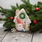 Gingerbread New Year and Christmas,