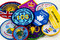 Stock Image : Girl Guiding Badges