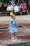 Stock Image : Girl at Iowa State Fair